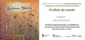 El oficio de mentir: Julio Llamazares
