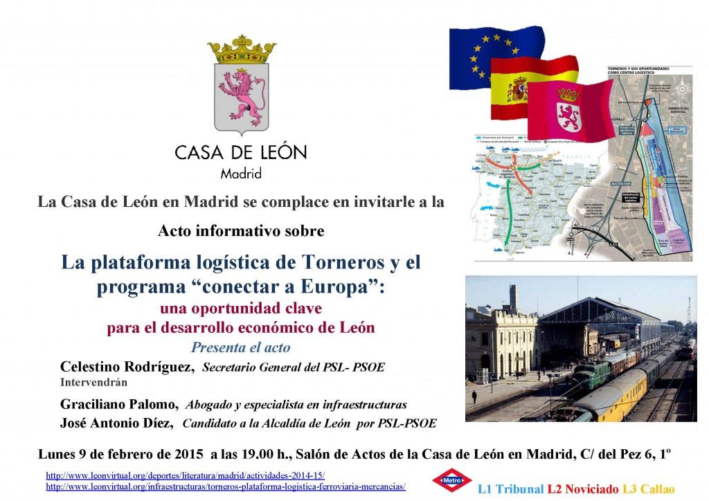 Acto Plataforma Torneros 9 Feb. 2015