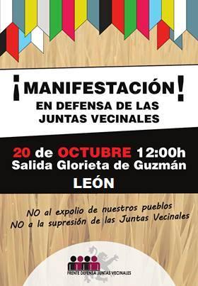 CARTEL MANIFESTACION 20 DE OCTUBRE