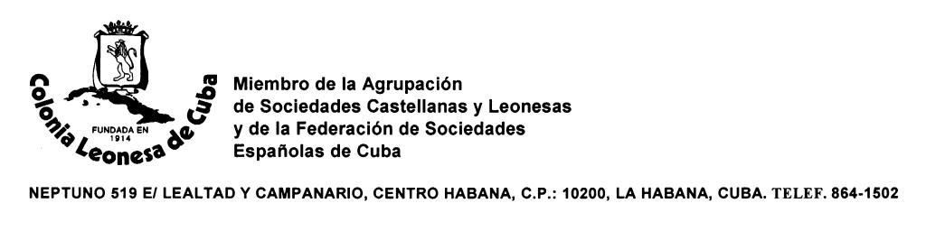 Colonia leonesa Cuba