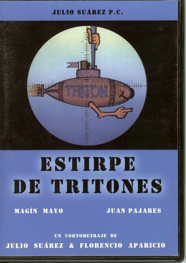 Estirpe de Tritones - Poster