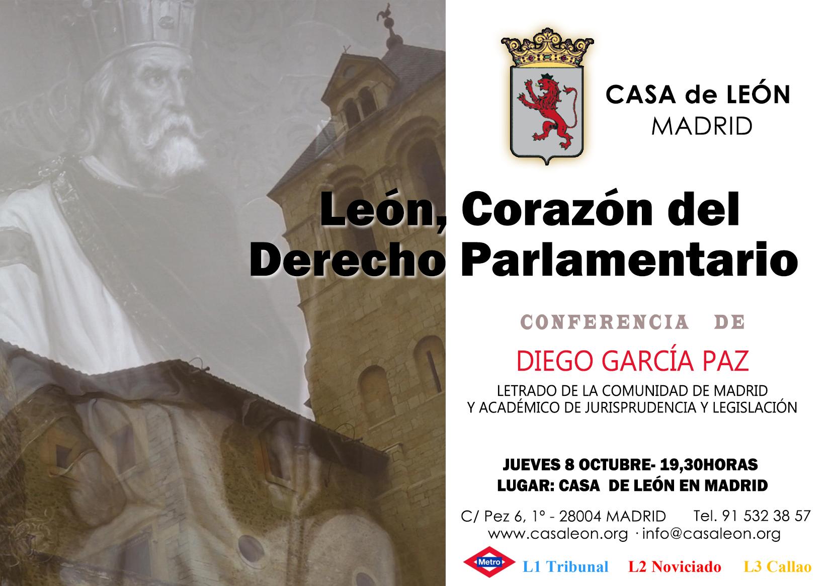 Leon, Corazón del Derecho Parlamentario