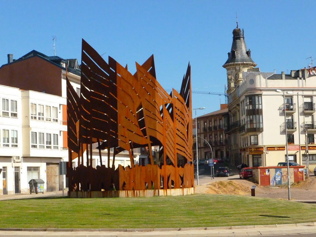 Mon Pendones Astorga Panoramio Foto Libanez