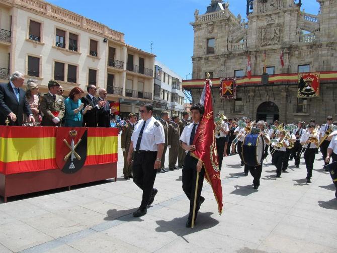 Replica Pendon Banda Astorga en la Zuiza Astorga Redaccion 2013