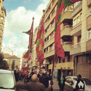Valladolid Centro Leonés  Grupos VIllasinta y Villaquilambre Nov 2014 Foto FB Gina Rodríguez 1