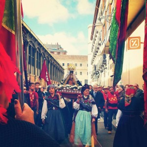 Valladolid Centro Leonés  Grupos VIllasinta y Villaquilambre Nov 2014 Foto FB Gina Rodríguez 2