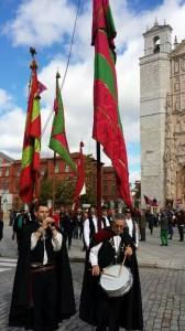 Valladolid Centro Leonés  Grupos VIllasinta y Villaquilambre Nov 2014 Foto FB Gina Rodríguez 4